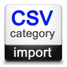 CSV Category Import (Opencart 1.5)
