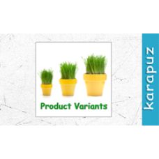 Product Variants (Opencart 1.5)