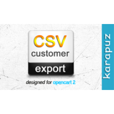 CSV Customer Export