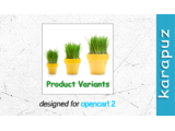 Product Variants (Opencart 2)