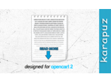Read More (Opencart 2)