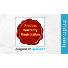 Product Warranty (Opencart 2)