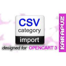 CSV Category Import