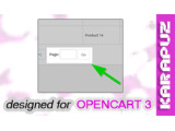 Easy Page Navigation (Opencart 3)