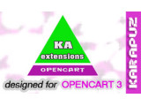 Ka Extensions library (Opencart 3)
