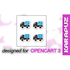 Custom Shipping Methods (Opencart 3)