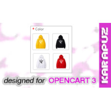 Product Option Images (Opencart 3)