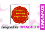 Product Warranty Registration