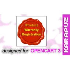 Product Warranty Registration (Opencart 3)