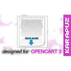Read More (Opencart 3)